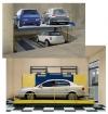 Sistem parcare auto pe nivele